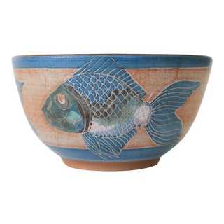 Pottery Fish Bowl