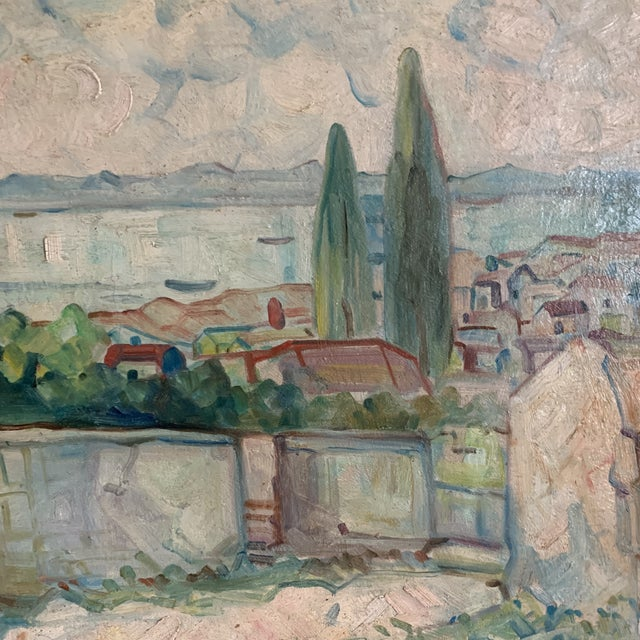 Antique Original Signed Impressionist Oil Painting For Sale In New York - Image 6 of 10