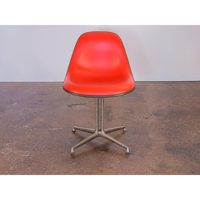 Red La Fonda Eames Chair for Herman Miller For Sale - Image 11 of 11