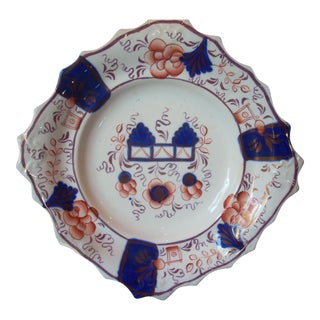 Antique Gaudy Welsh Plate For Sale