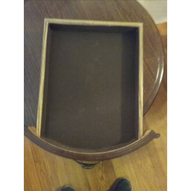 Classic Oak End Tables - Pair - Image 5 of 8