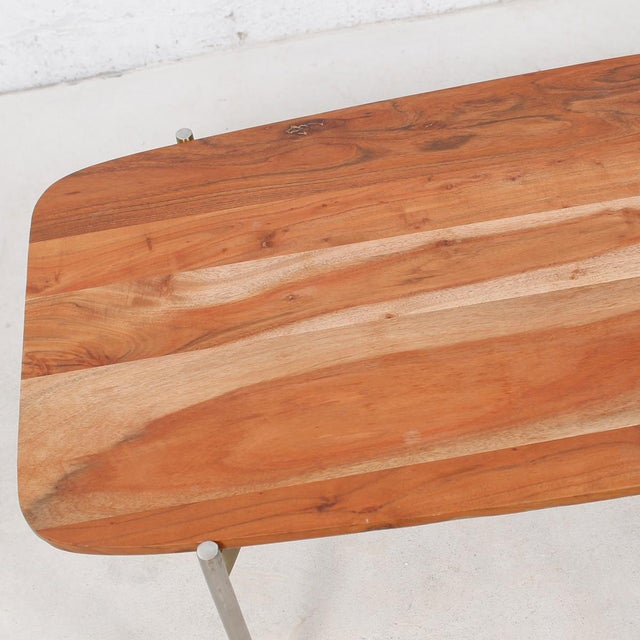 Laverne Exotic Wood Coffee Table - Image 6 of 6