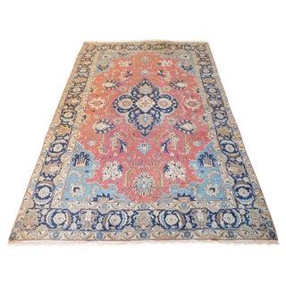 Antique Persian Tabriz Rug - 8″ × 11″ For Sale