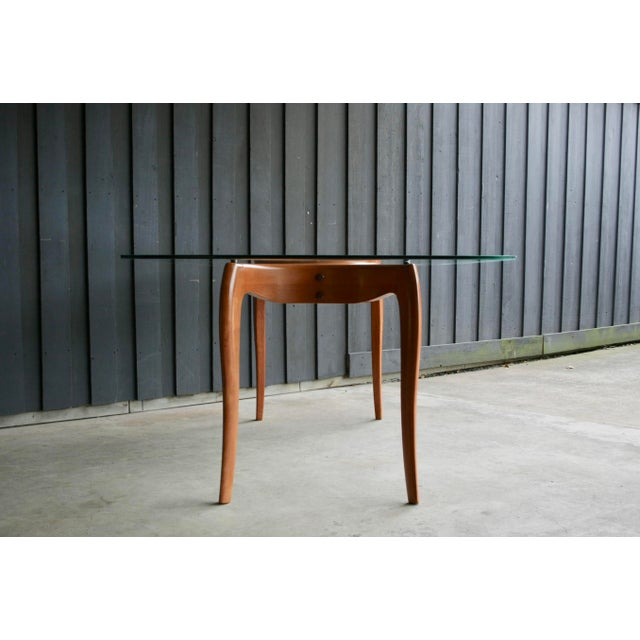 Danish Modern Anthropomorphic Carved Hardwood Dining Table For Sale In Dallas - Image 6 of 13