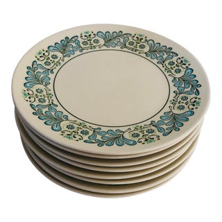 French Style Taylor & Smith Set of 8 Bread / Dessert Plates For Sale
