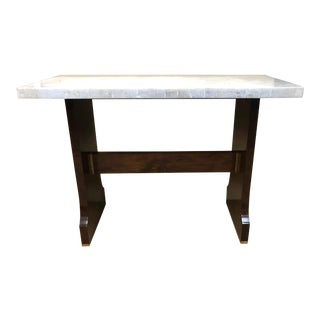 Traditional Century Furniture Counter Height Bar Table For Sale