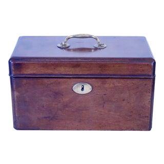 English Georgian Mahogany Box