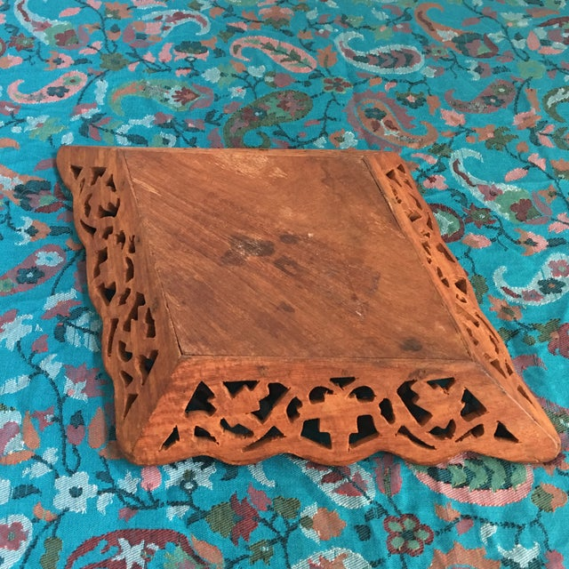 1940s Vintage Syrian Decorative Tray For Sale - Image 4 of 9