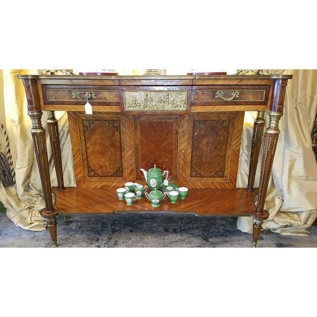 19c French Breakfast Console Buffet For Sale - Image 12 of 13