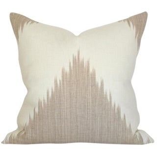 Lee Jofa Mirasol Linen Pillow Cover For Sale