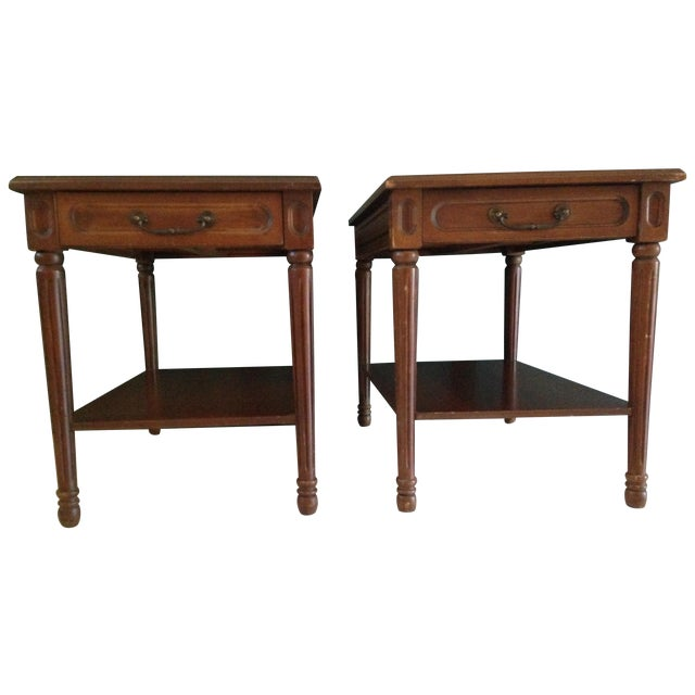 Mersman Side Tables - A Pair - Image 1 of 7