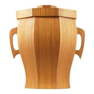 Broadway Imported Housewares Wooden Ice Bucket