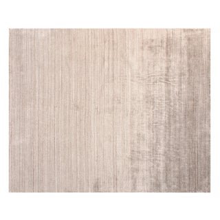 Stark Studio Rugs Contemporary Tommen 50% Wool/50% Banana Silk Rug - 6′1″ × 9′1″ For Sale