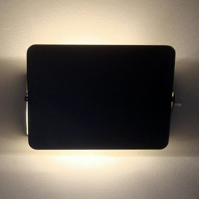 "Black 1960s Black Charlotte Perriand ""Cp1"" Wall Lights For Sale - Image 8 of 11"