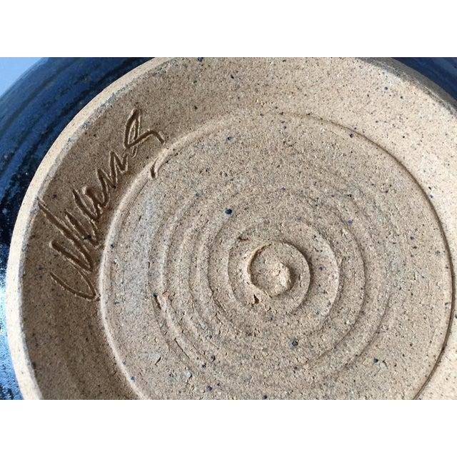 Signed Gerry Williams Mid-Century Stoneware Bowl - Image 3 of 6