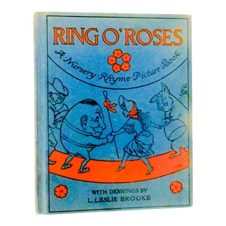 1930 Ring O' Roses Illustrated Children's Book For Sale