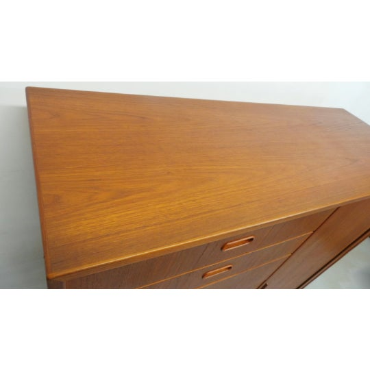 Wood 1960s Mid Century Danish Modern Teak Gentleman's Chest By Falster For Sale - Image 7 of 9