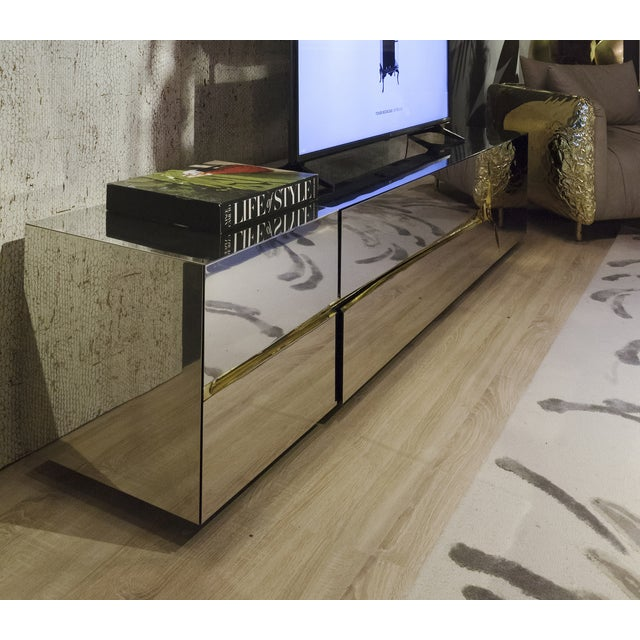 Not Yet Made - Made To Order Lapiaz Tv Cabinet From Covet Paris For Sale - Image 5 of 9