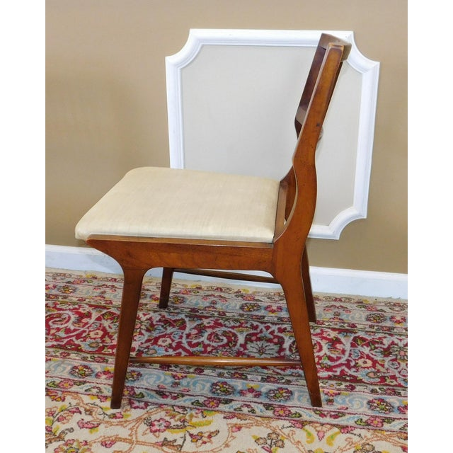 Vintage Lane Furniture Walnut Dining Chairs - Set of 4 - Image 11 of 11
