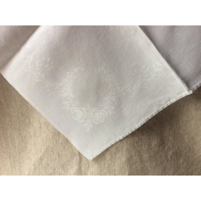 1900s French Linen Napkins - Set of 10 For Sale - Image 11 of 13