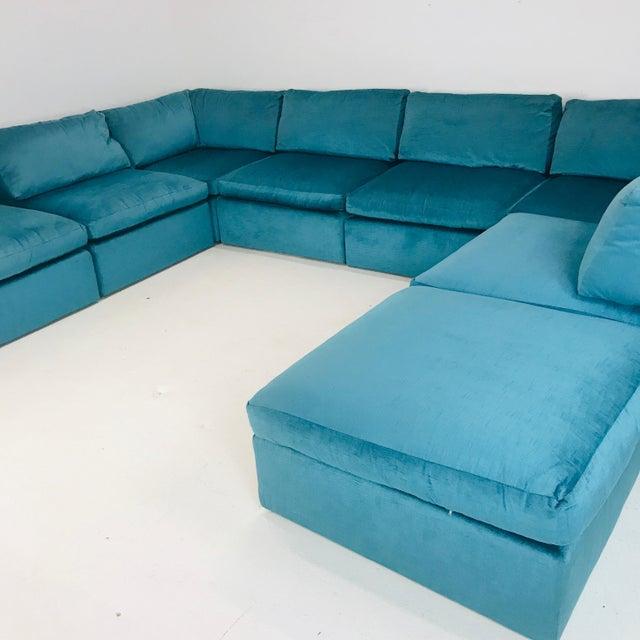 Milo Baughman Modular Sofa For Sale - Image 10 of 12