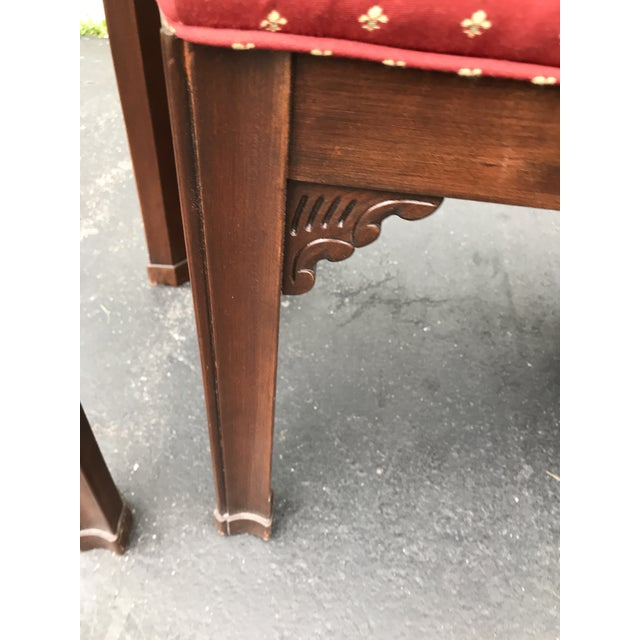Wood Harden Chippendale Sofa Table Credenza With Benches a Pair For Sale - Image 7 of 13