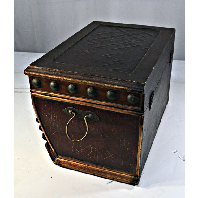 Decorative Wooden Coffer - Image 10 of 10