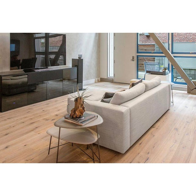 "Jeffrey Bernett Modern Design Within Reach ""Reid"" Sofa and Ottoman For Sale - Image 4 of 6"