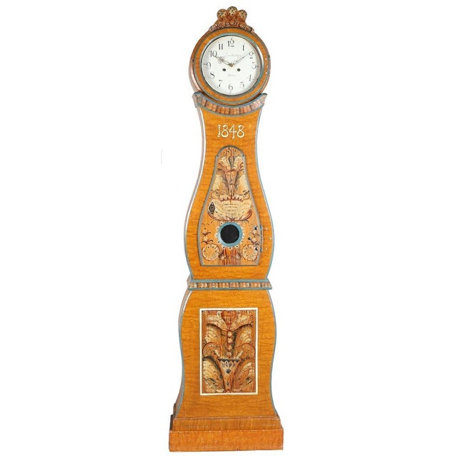 Antique Swedish Mora Clock - Image 1 of 4