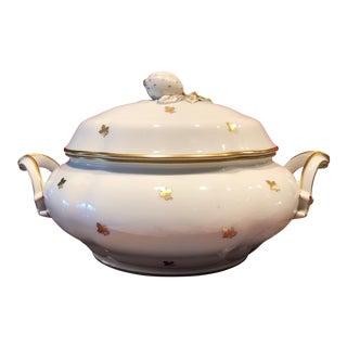 Antique Augarten Vienna Porcelain China Soup Tureen For Sale