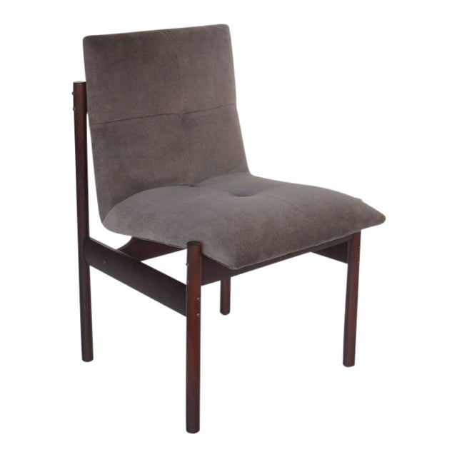 Four Rosewood Dining Chairs by Celina Moveis, Brazil 1960s - Image 1 of 2