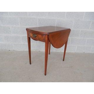 Henredon Vintage Federal Style Pembroke End Table Preview