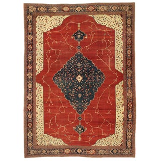 Magnificent Fereghan Sarouk Carpet For Sale