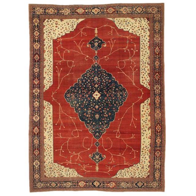 Magnificent Fereghan Sarouk Carpet For Sale