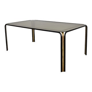 1970's Hollywood Regency Dining Table For Sale