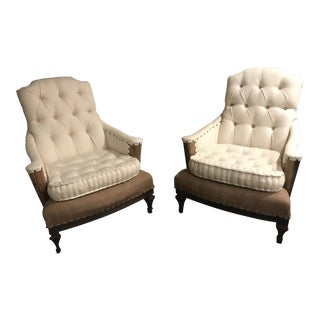 Vintage Deconstructed Childrens Chairs -a Pair