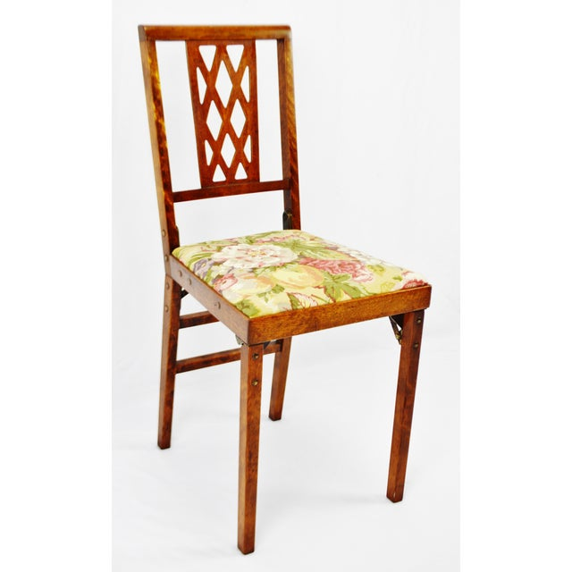 Mid-Century Modern Vintage Leg O Matic Folding Chair For Sale - Image 3 of 11