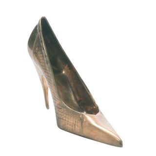 Bronze Stiletto Sculpture For Sale