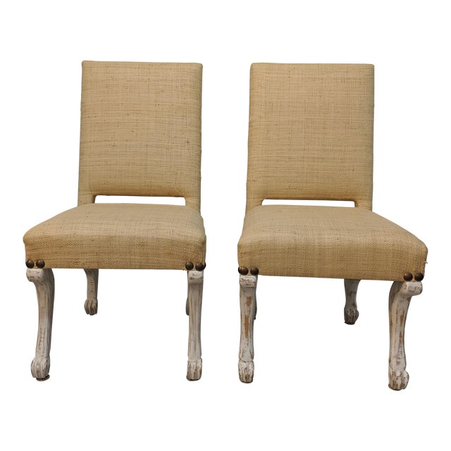 John Dickinson Style Chairs- A Pair For Sale