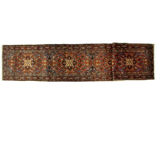 "Leon Banilivi Antique Heriz Rug - 3'2"" X 15'10"" For Sale"