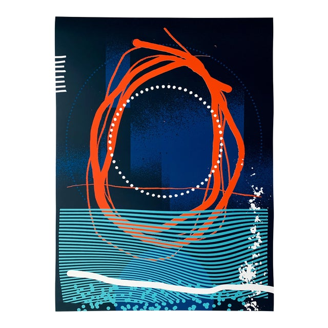 "Abstract Limited Edition Print ""All Things in Motion"" by Erik Otto For Sale"