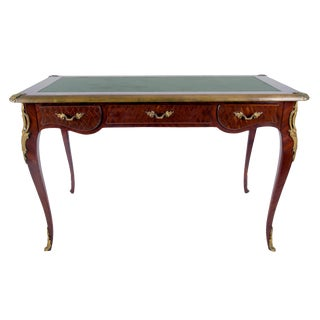 1940s French Louis XV Style Writing Desk For Sale