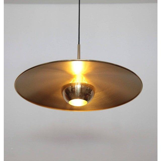 Mid-Century Modern Florian Schulz Double Onos 55 Pendant Lamp with Side Counter Weights For Sale - Image 3 of 7