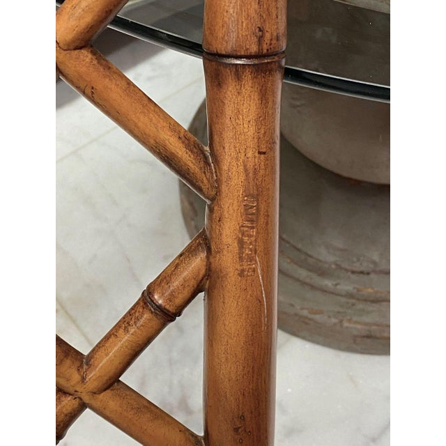 McGuire Style Bamboo Dining Chairs - Set of 8 For Sale - Image 10 of 13