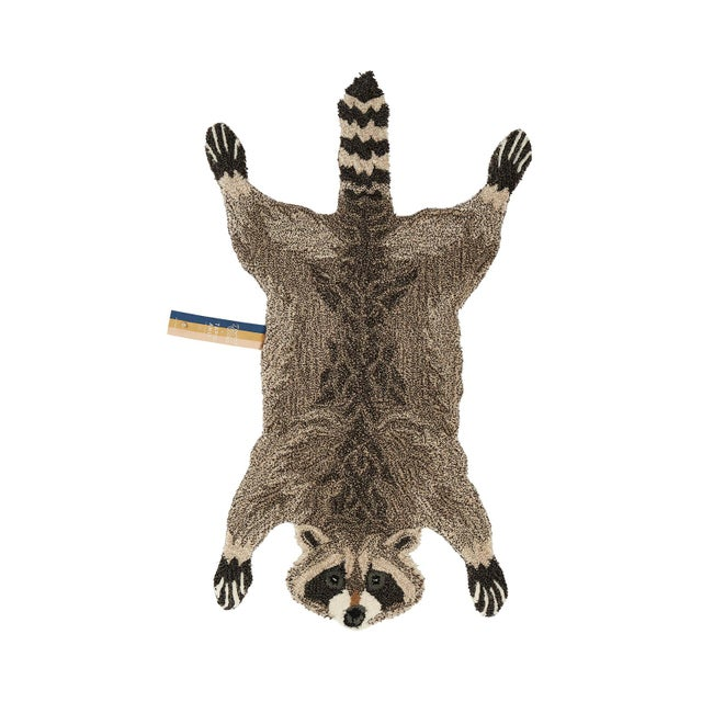 Doing Goods Racoon Rug Large For Sale - Image 4 of 4