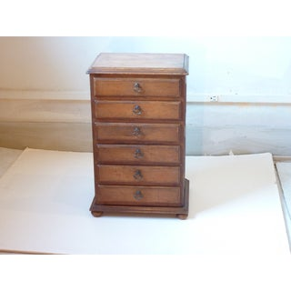 20th Century Traditional Alfred Assid Mini Chest of Drawers Preview