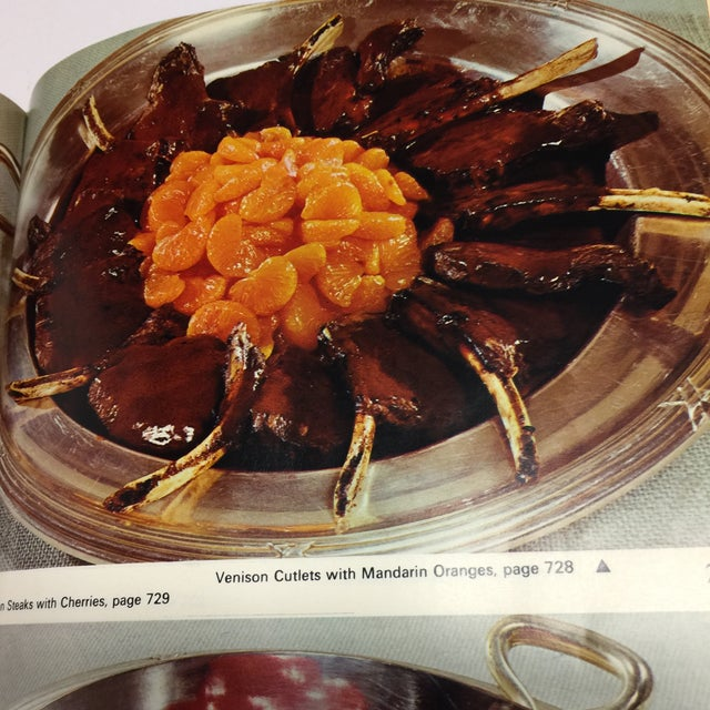 1966 Vintage Modern French Culinary Art Cook Book For Sale - Image 12 of 13