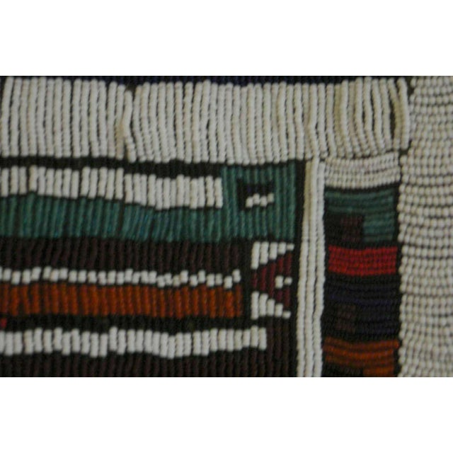 Antique African Wedding Apron From the Ndebele Tribe For Sale - Image 4 of 9