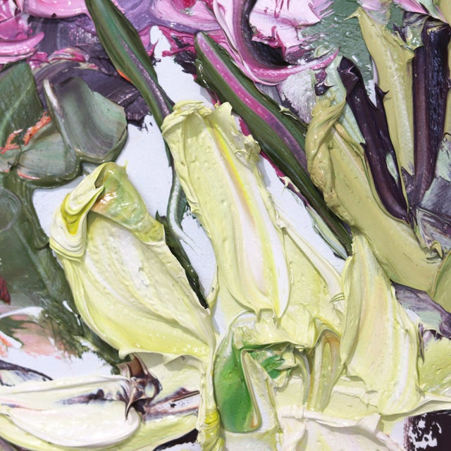 """Original Oil Painting by Sally West """"Some of Today and the Other Day"""" For Sale In Los Angeles - Image 6 of 10"""