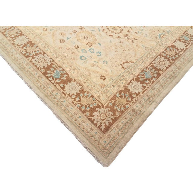 Accentuate your interior decor with this traditional wool rug featuring oriental design and calm tones. This rug is...